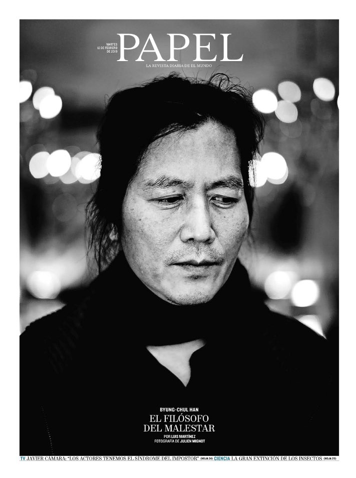 PAPEL's photo on Byung-Chul Han