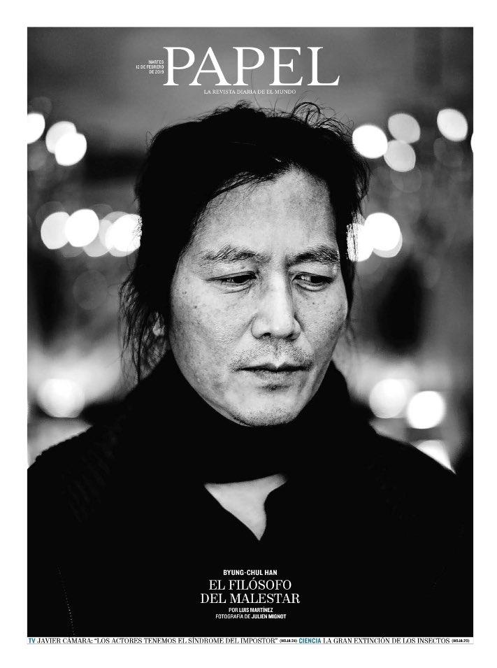 Gonzalo Suárez's photo on Byung-Chul Han