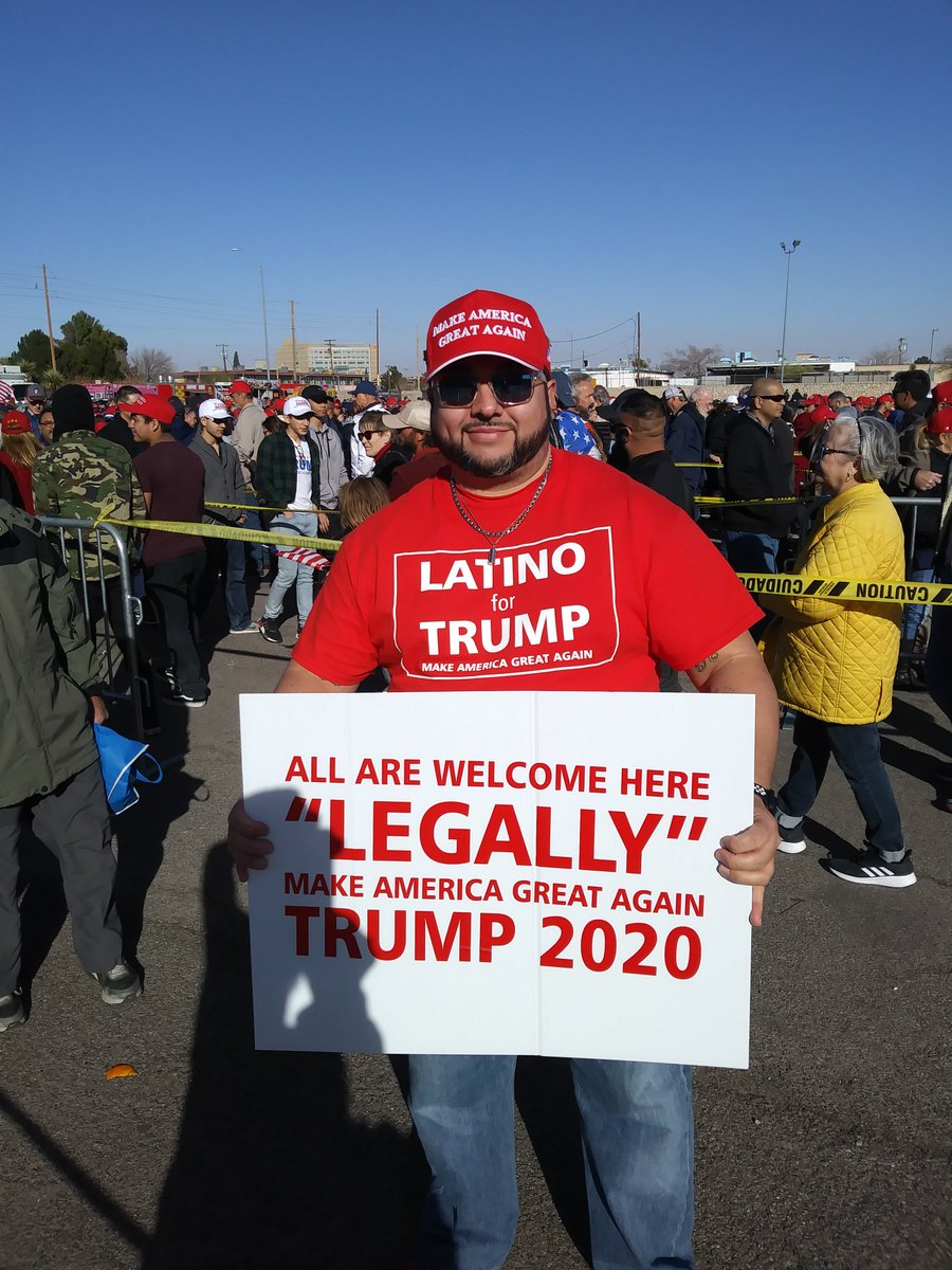 Blake Gumprecht's photo on #TrumpElPaso