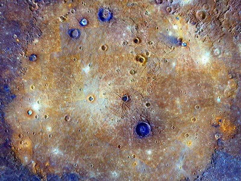 We are sharing some of our greatest hits! And we're not talking about musical hits — we're talking about impact craters! ☄️ Take a journey through the Martian blast patterns, the Death Star-like moon of Saturn and the Mercury basin bigger than Texas:  https://t.co/DTjPr70bDU