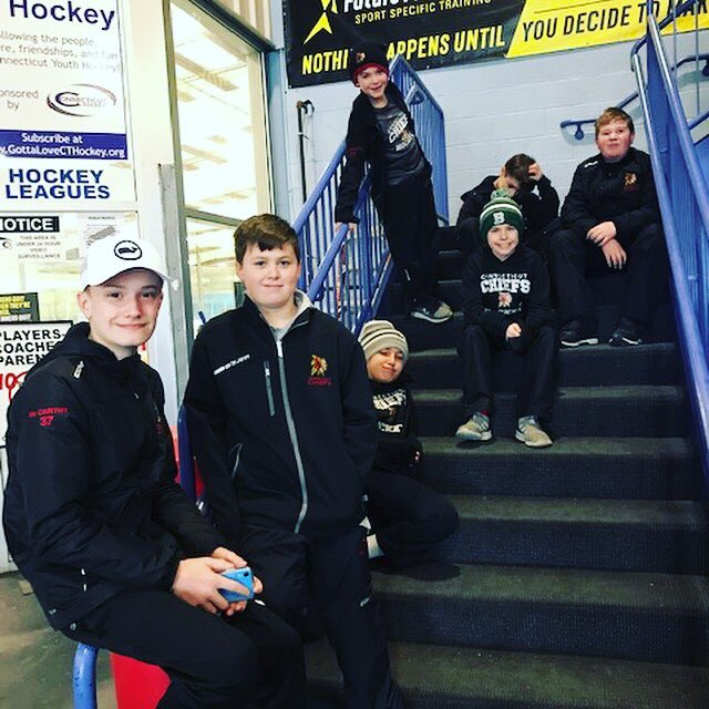 CT U12 Dominated the ice this weekend with 3 huge league wins! Strong puck movement, stellar goal-tending and unselfish play were common themes that led the Chiefs to a 2 game sweep of the Predators & win against the Wings...#gochiefs #promote #develop #excel