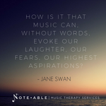 """💯""""How is it that music can, without words, evoke our laughter, our fears, our highest aspirations?""""  ―  Jane Swan  #Quote #Share #Music"""