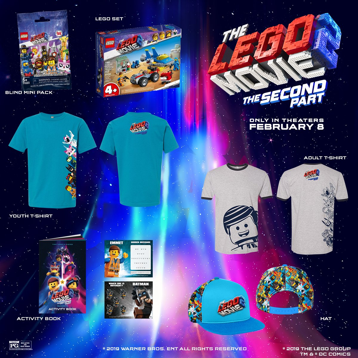 RT this to be entered to win a #TheLegoMovie2 Prize Pack!  *Must be following @ArcLightCinemas  *Must live in the US
