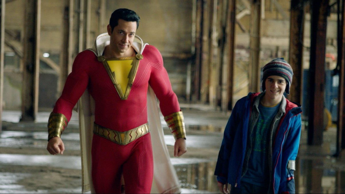 Meet #SHAZAM – In theaters April 5.