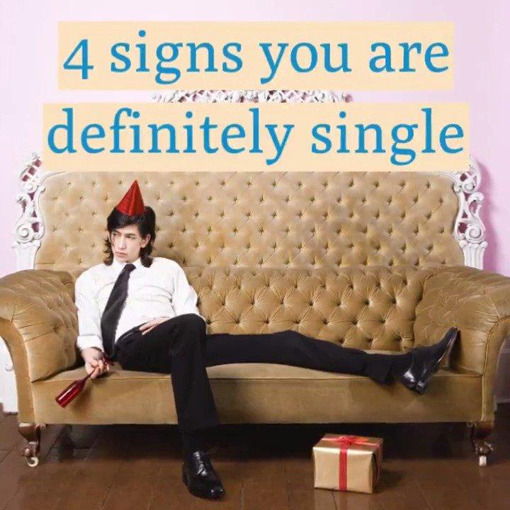 Hashtag Roundup's photo on #SignsYouAreSingle