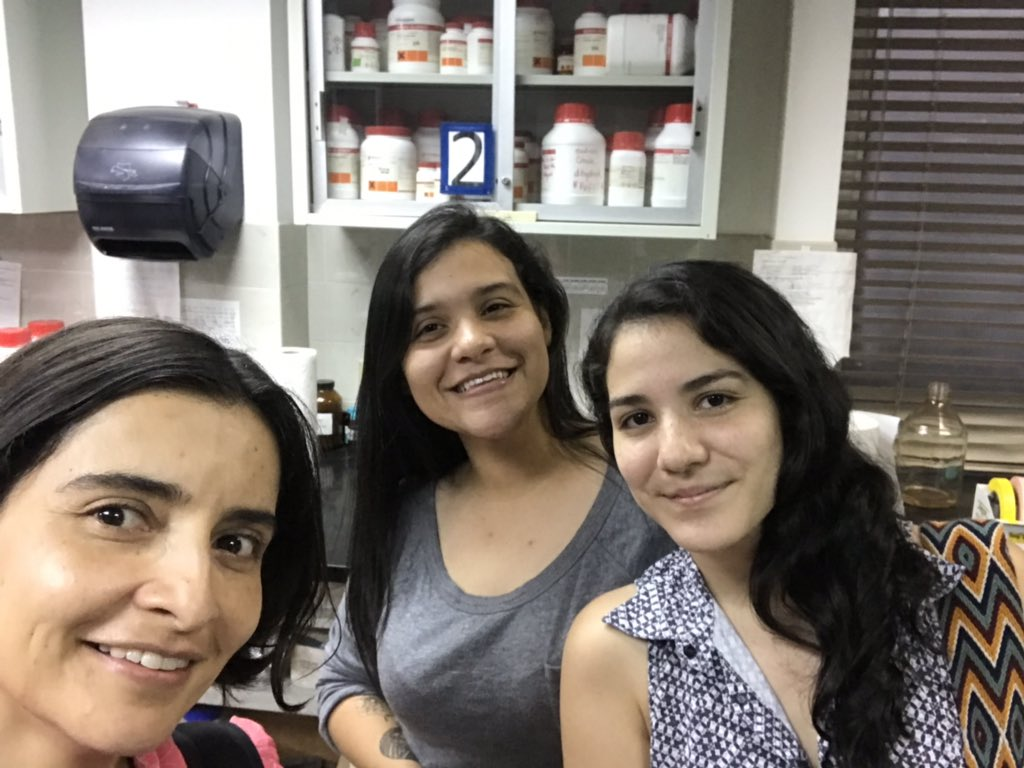 Carolina Sarmiento's photo on #WomenAndGirlsInScience