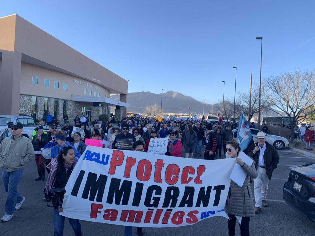 ACLU Border Rights Center's photo on #ElPaso