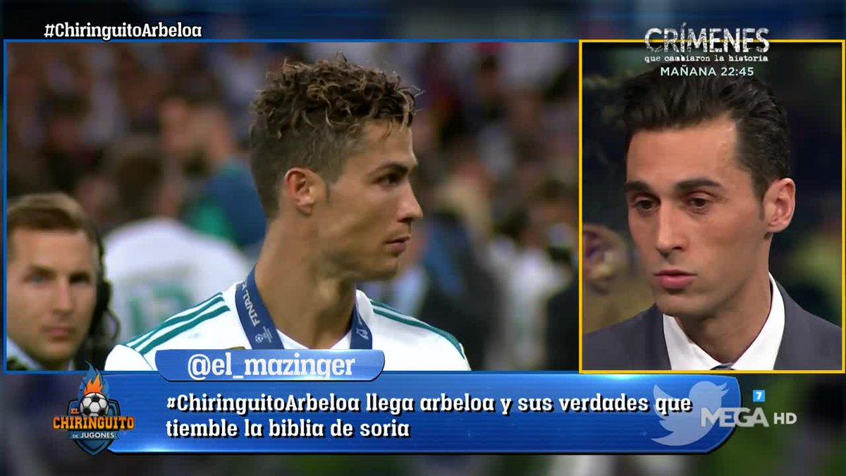 El Chiringuito TV's photo on #ChiringuitoArbeloa