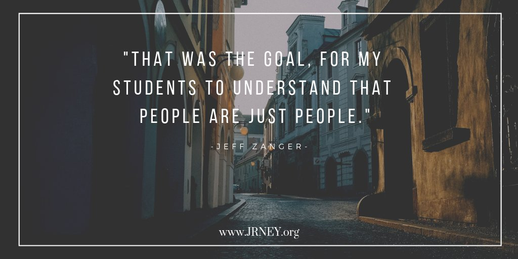 People are just people- @Educ8_zanger explains why in this week's post jrney.org/blog