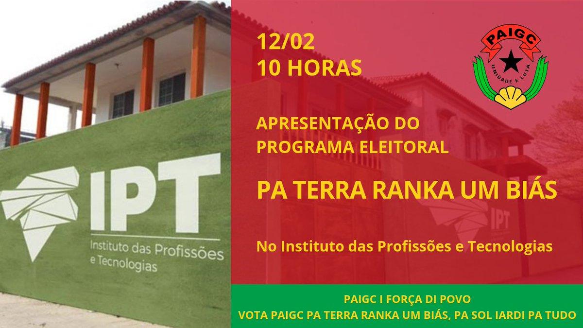 PAIGC's photo on Antônio Carlos