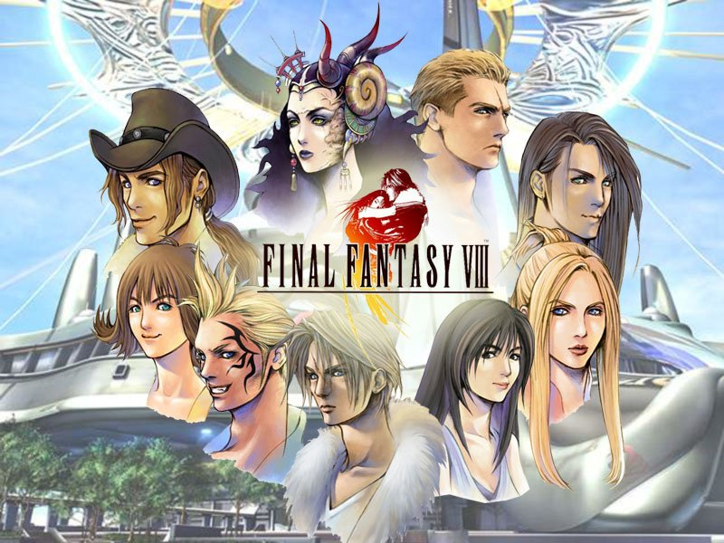 Johnny Retro's photo on Final Fantasy VIII
