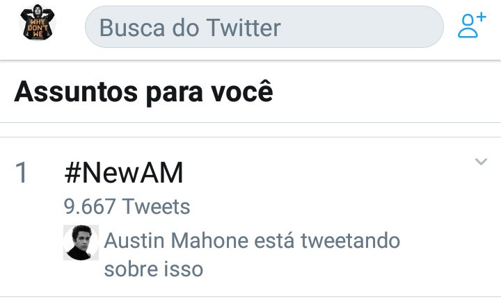 Andréa| Why Don't We 🇧🇷's photo on #newam