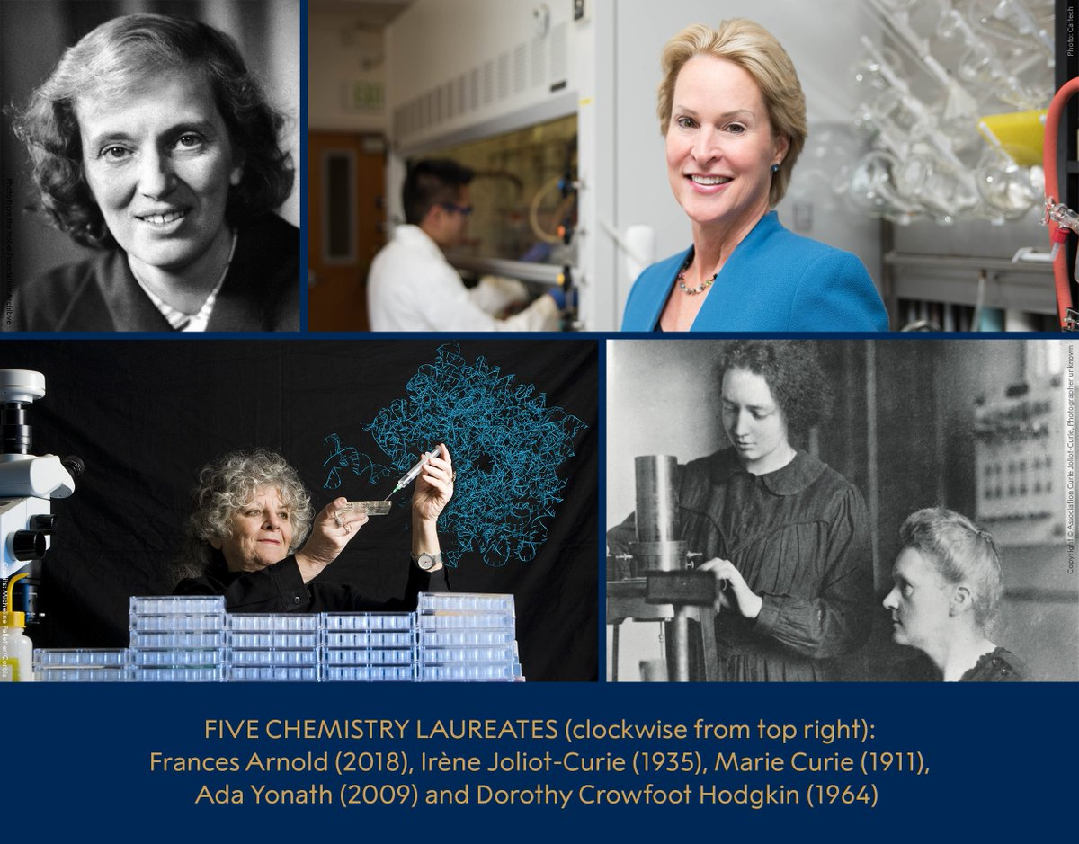 Five remarkable Nobel Prize-awarded chemists that have made our world a better place.  #WomenInScience