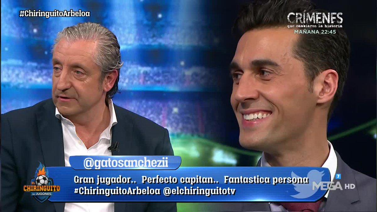 El Chiringuito TV's photo on benitez