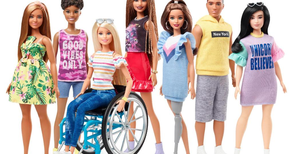 These new Barbies come in a wheelchair and have a prosthetic leg https://t.co/oNKiJm1HWc