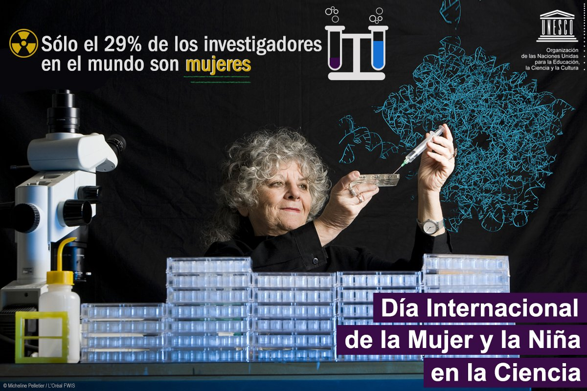 UNESCO en español's photo on #mujeresenciencia
