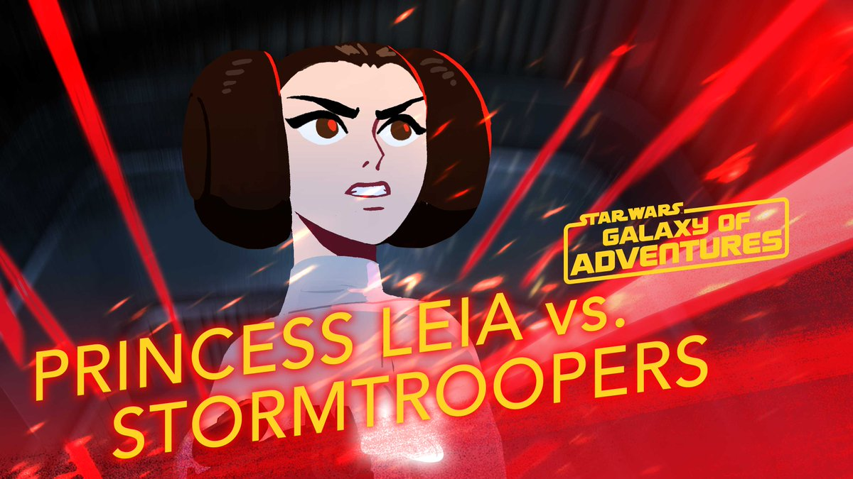 Princess Leia proves, again and again, that she is perfectly capable of saving herself.  Watch more #GalaxyOfAdventures shorts now on the Star Wars Kids YouTube channel: http://strw.rs/6001ErXlv