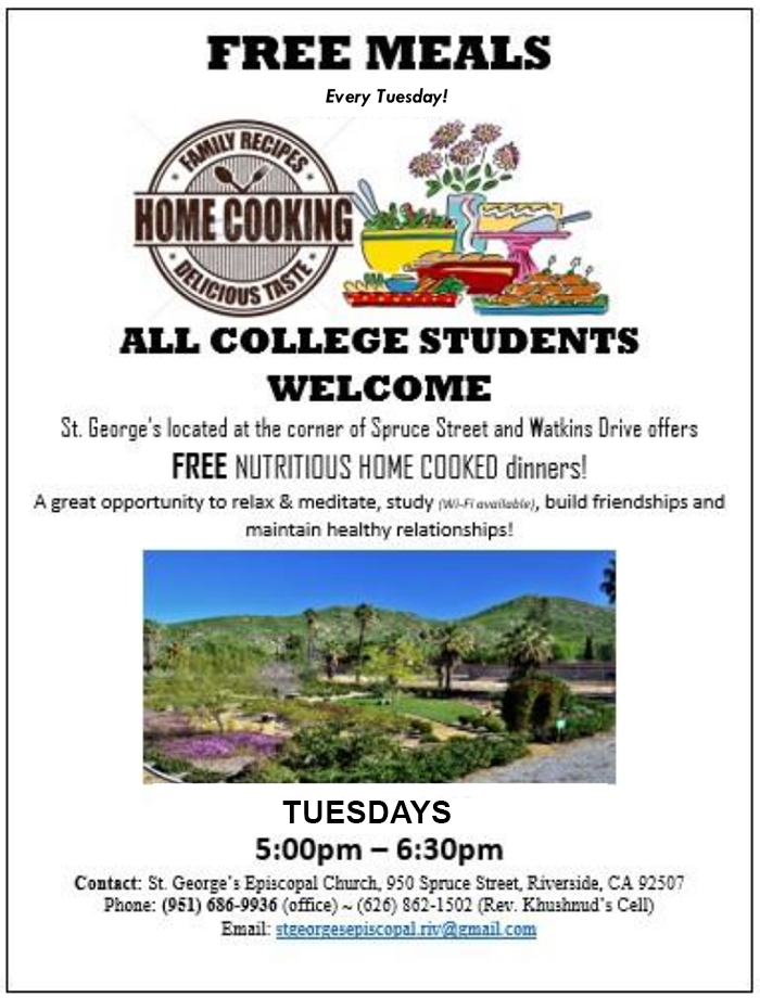 Check this out #Free meals for college students!!!