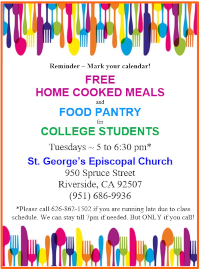 Check it out!!  They have a #FoodPantry and #Free home cooked meals!!