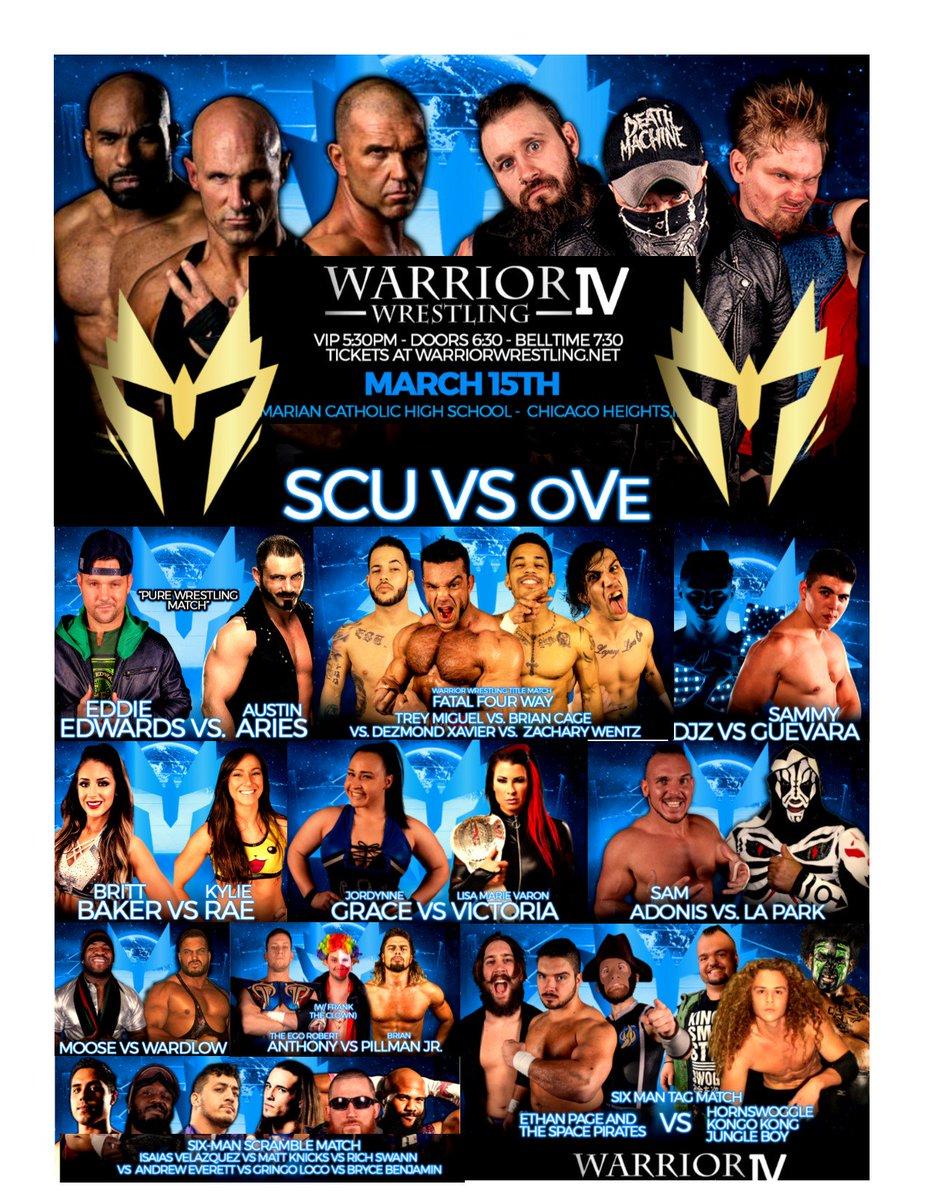 Warrior Wrestling's photo on #DOUBLEorNOTHING