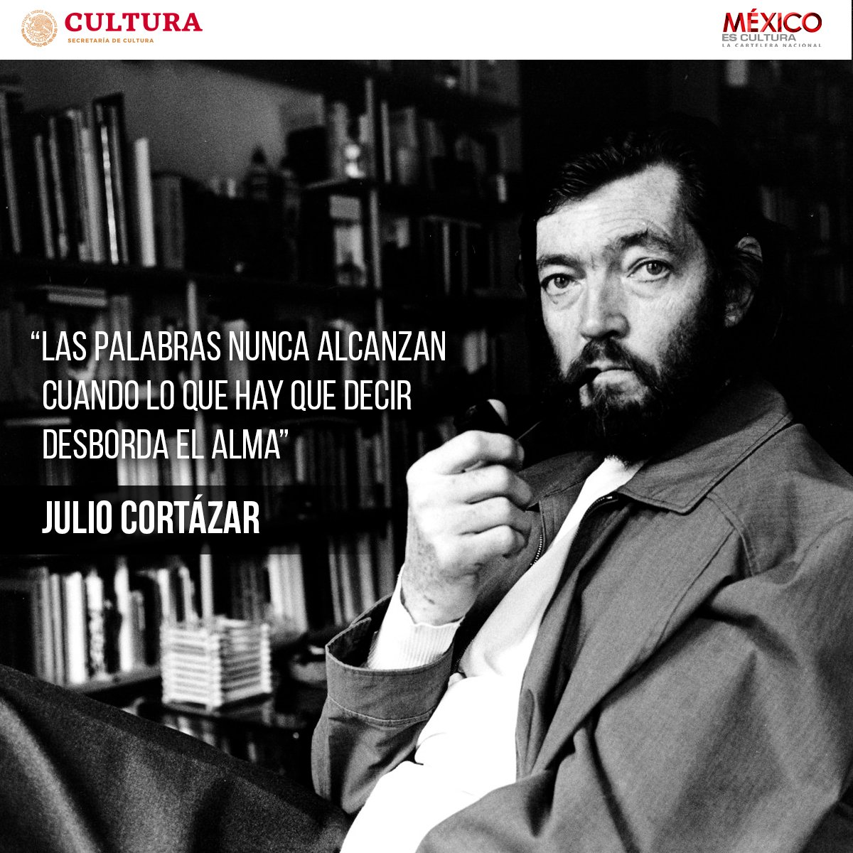 México es Cultura's photo on Julio Cortázar