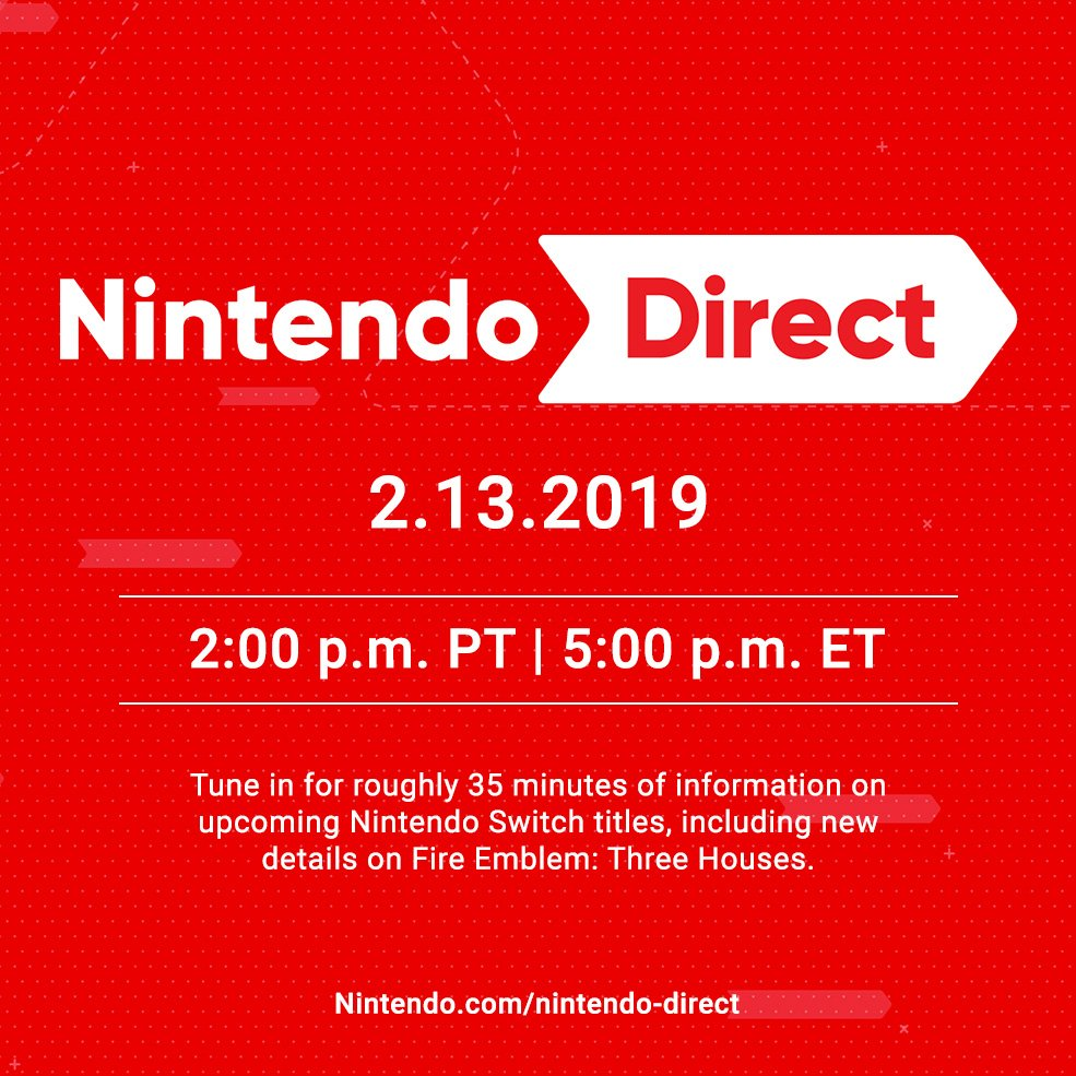 Nintendo Of America On Twitter Tune In 213 At 2pm Pt For A