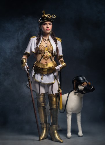 Interesting #Steampunk design and a hound! I might incorporate this into a story... #PulpRev #AmWriting