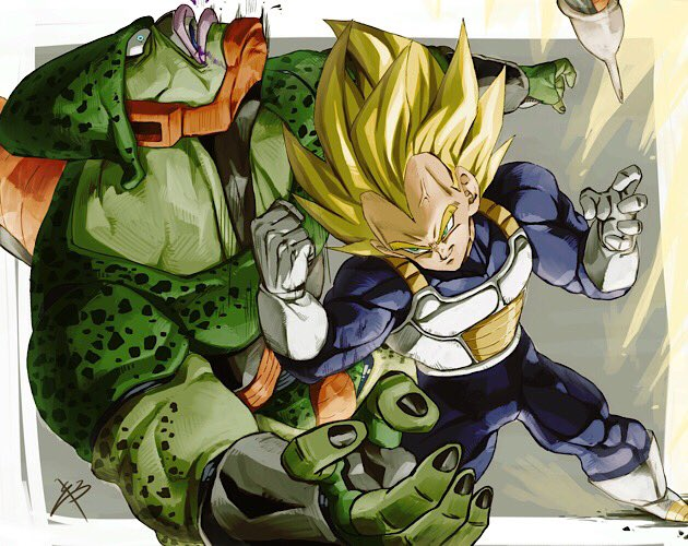 Images découvertes [Fanarts Dragon Ball] - Page 5 DzKyyLOU0AABynX