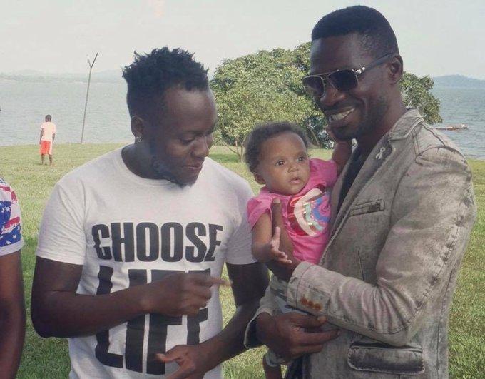 Happy birthday Bobi Wine atalina selfie na presido afune photoshop