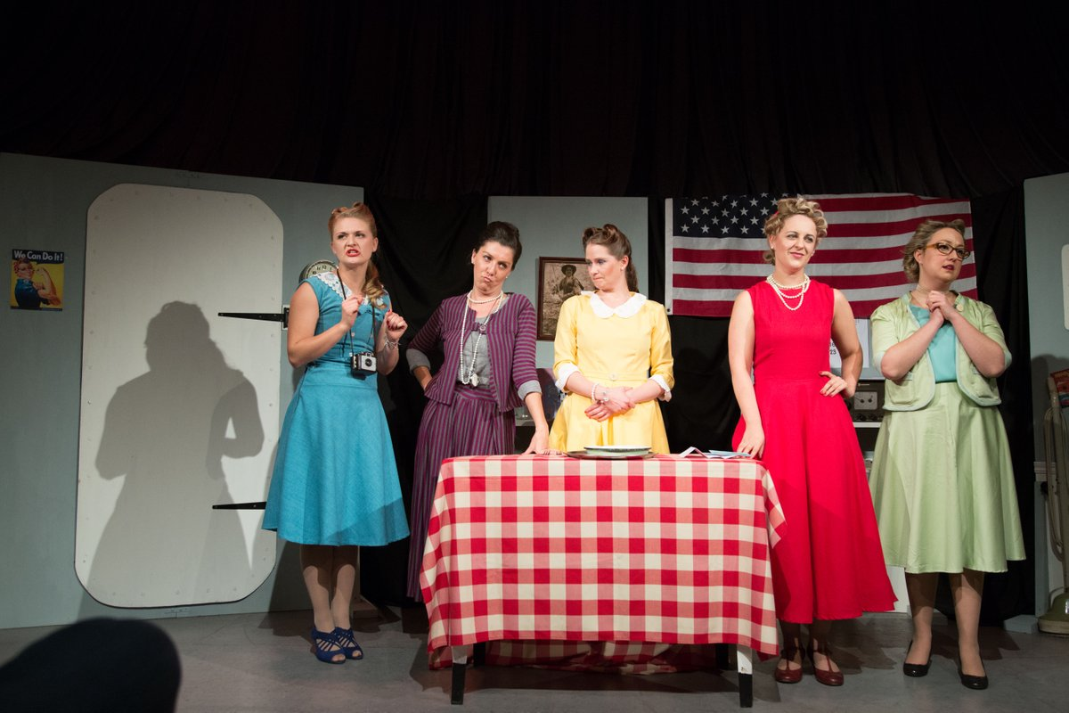 19-23 Feb 2019  5 Lesbians eating a quiche   Set in America in 1956 all hell breaks loose at the annual quiche breakfast. Now it's every woman for herself. It's Lord of the Flies meets Stepford Wives – with Lesbians, Quiche and improvised comedy.  http://www.artscape.co.za/event/5-lesbians-eating-a-quiche/…