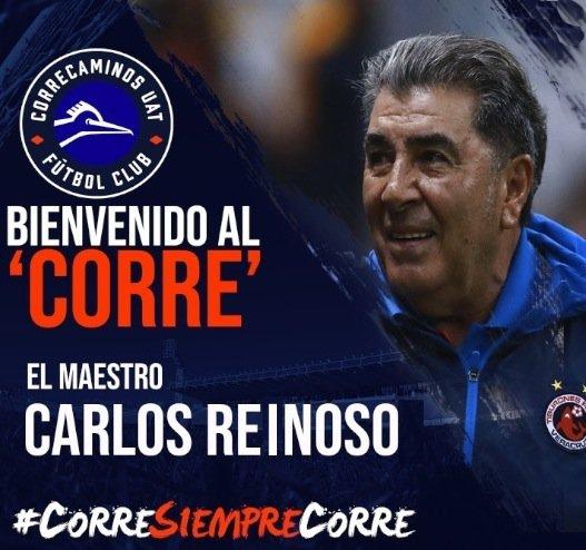Correcaminos's photo on Carlos Reinoso