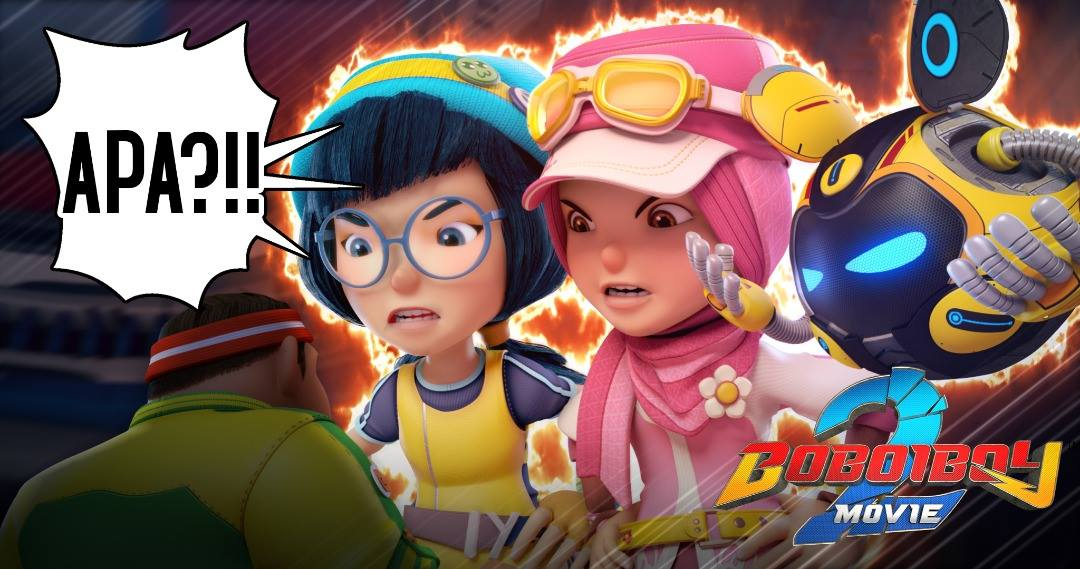 Apa Teaser Trailer Boboiboy Movie 2 Pada 8 Mac 2019 What