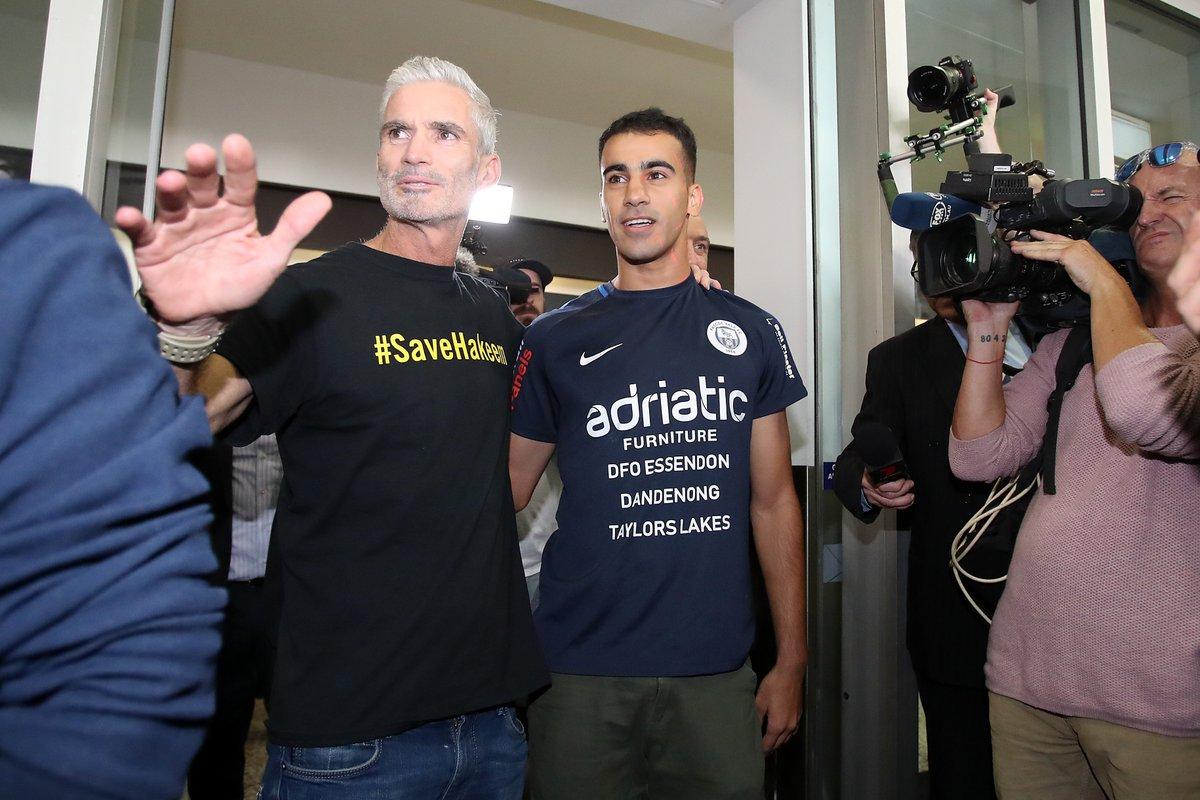 Herald Sun's photo on Hakeem al-Araibi