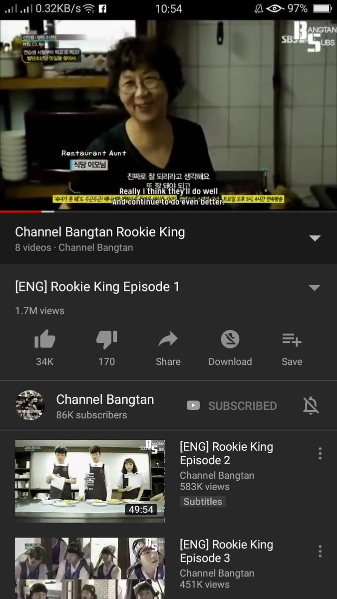 Bts Rookie King Ep 6 Eng Sub