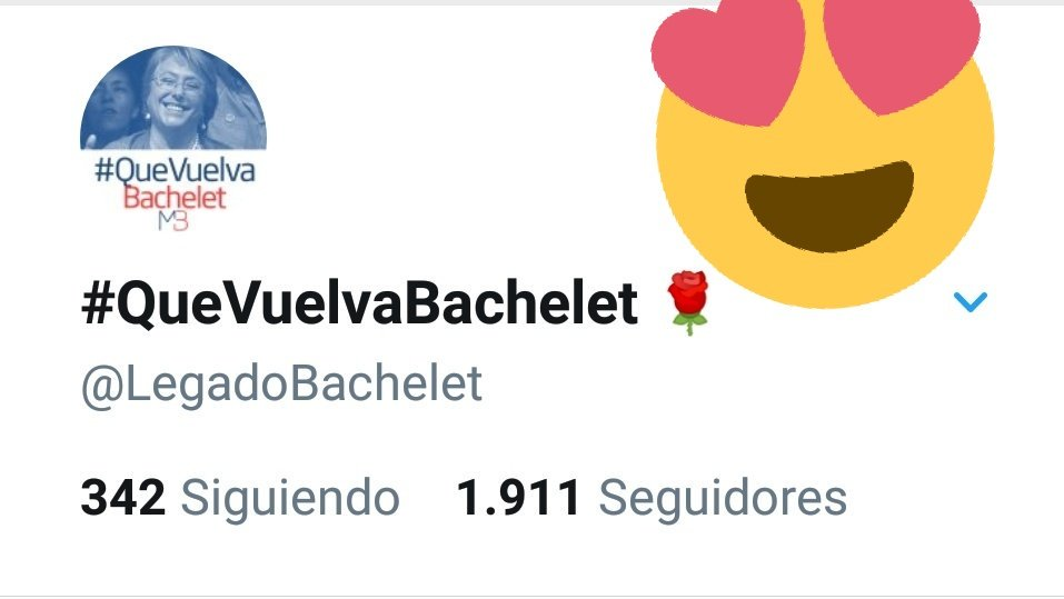 #QueVuelvaBachelet 🌹's photo on #QueVuelvaBachelet