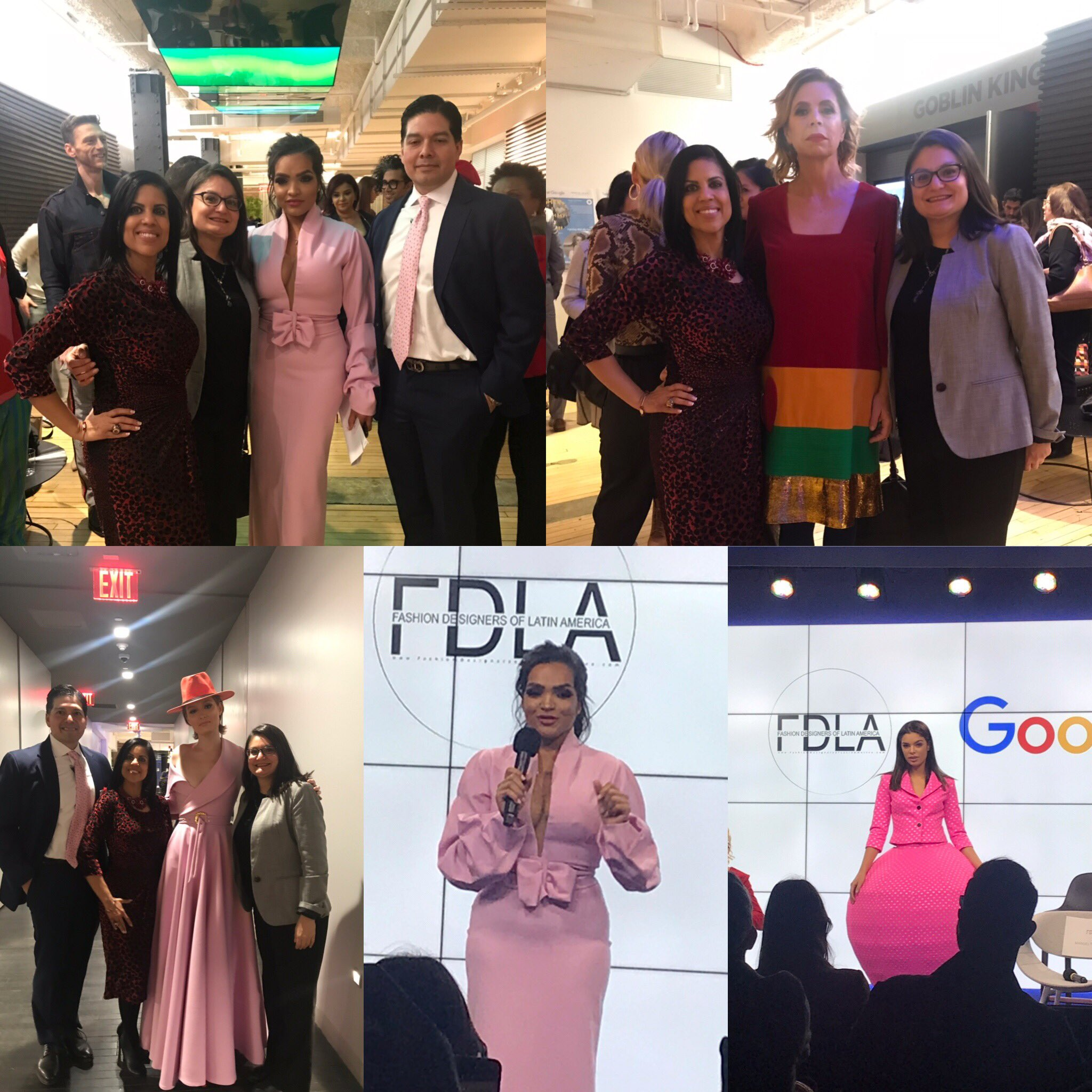 Beth Marmolejos On Twitter Attending The Fashion Designers Of Latin America Fashion Show Kick Off Event At Google Supporting Albania Rosario The Founder And Creator Of Uptown Fashion Week And The Famous