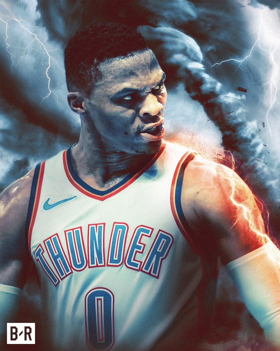 Russ makes history. 10 straight games with a triple-double, the longest streak ever.