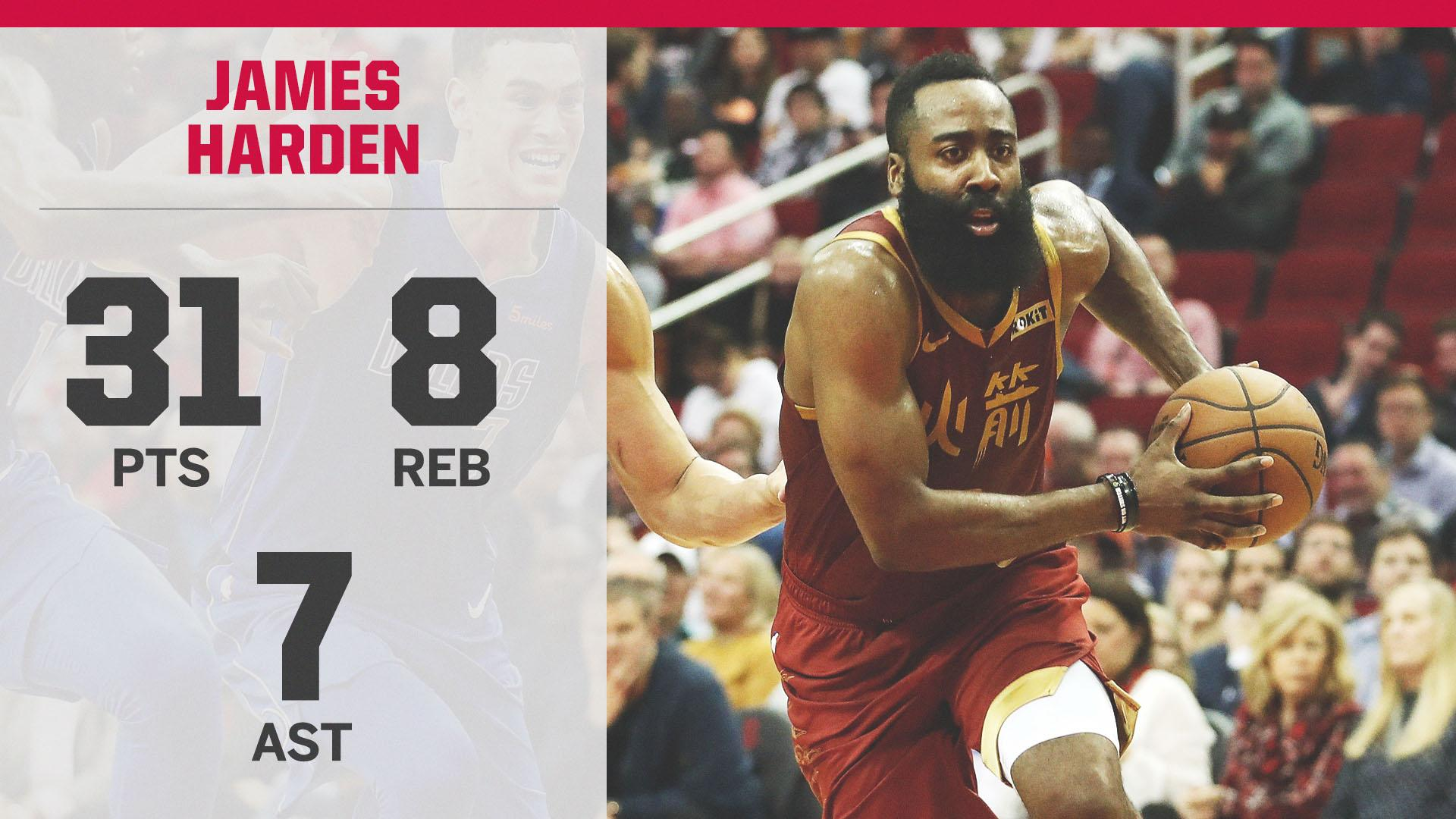 Harden has dropped 30+ points in 30 straight games ��  The only other player to do that is Wilt Chamberlain. https://t.co/okrm8dW3BJ