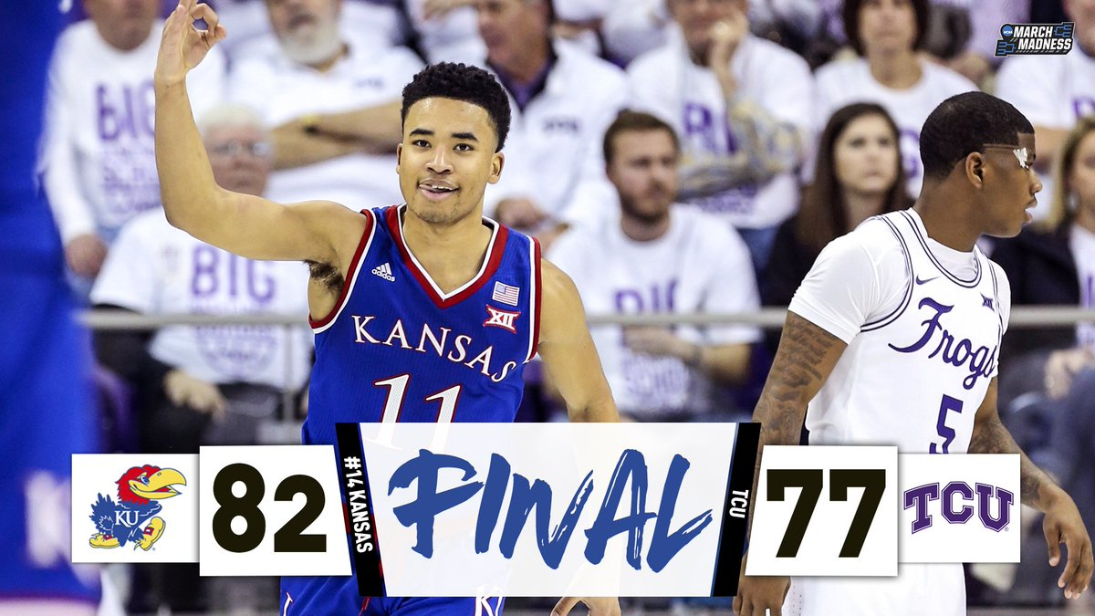 NCAA March Madness's photo on #RockChalk