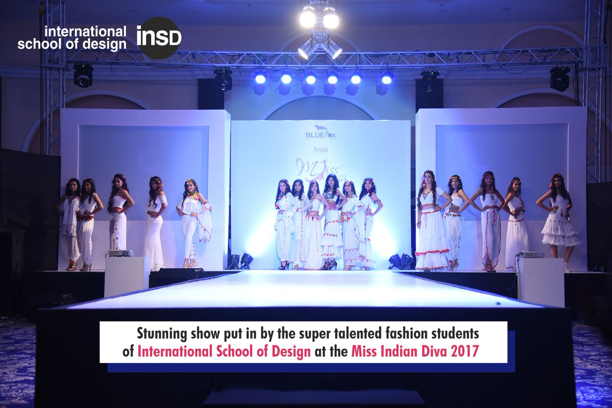 Insd Bangalore North On Twitter Stunning Show Put In By The Super Talented Fashion Students Of International School Of Design At The Miss India Diva 2017 Register For Fashion Designing Courses Call 91 6364383702