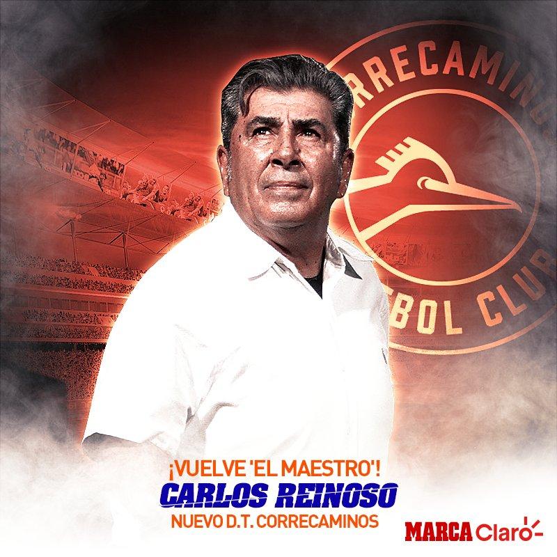 MARCA Claro's photo on Carlos Reinoso