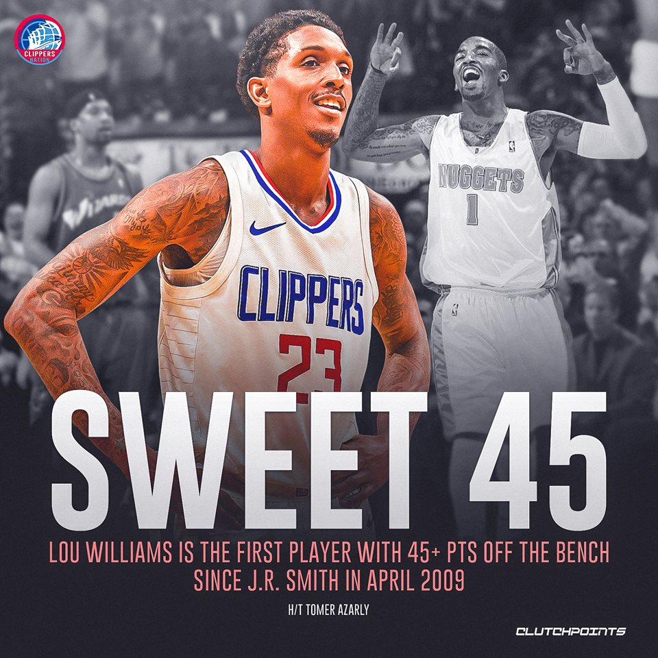 Clippers Nation's photo on Lou Williams