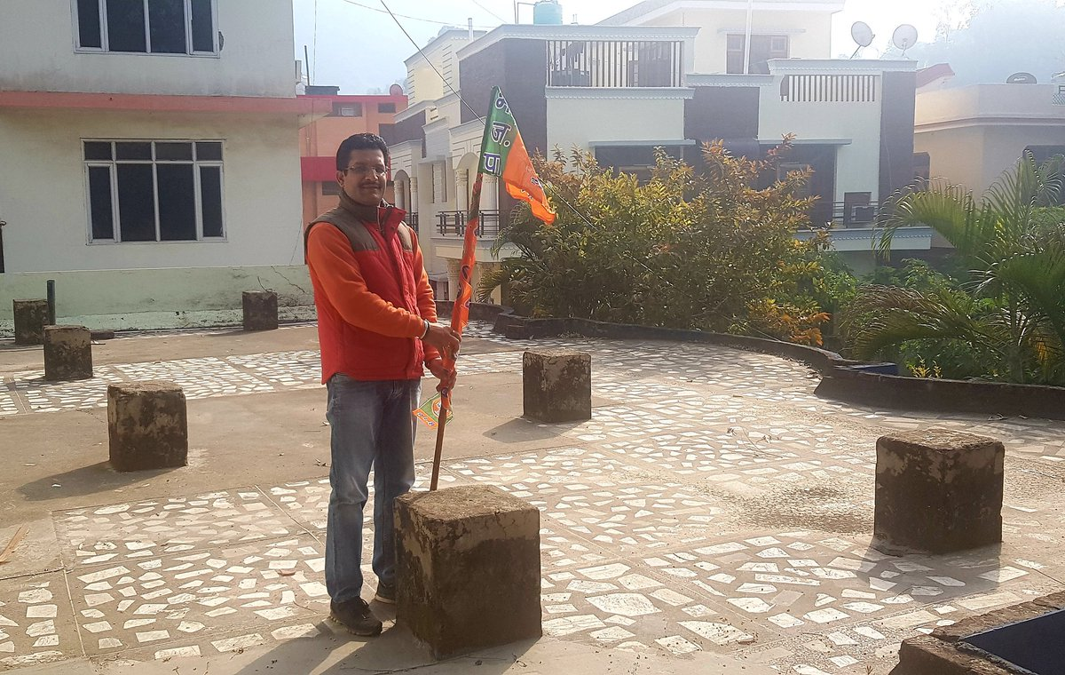 Puneet Sharma's photo on #MeraParivarBhajapaParivar
