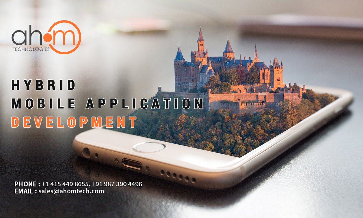 Hybrid apps are one of the most prominent chunks of the modern technology.   #webapplications #mobileapplication #hybridmobileapplication #mobileapp #ahom #ahomtech Read More at : https://www.ahomtech.com/hybrid-mobile-application-develop……/