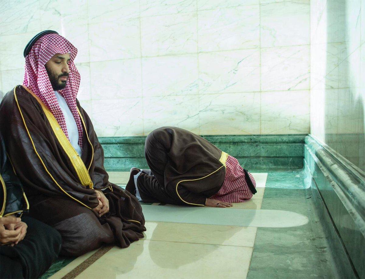 اخبار 24 - السعودية's photo on #محمد_بن_سلمان_في_الحرم_المكي