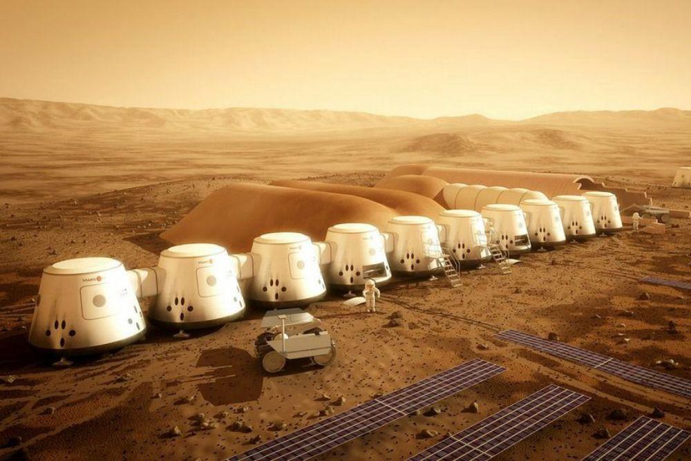The Verge's photo on Mars One