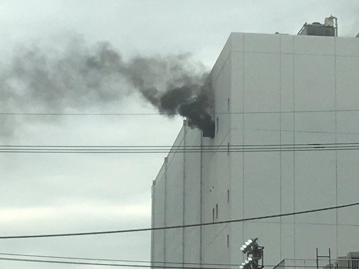 大田区城南島のマルハニチロで火事 冷蔵倉庫から出火 逃げ遅れの情報も