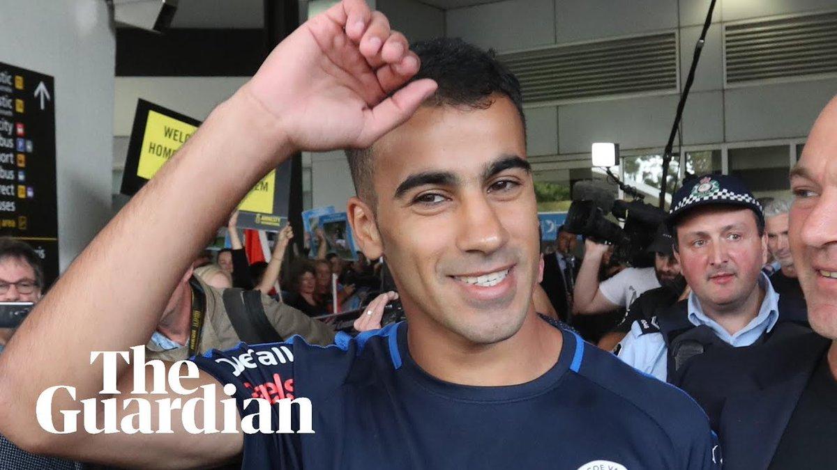 Guardian Australia's photo on Hakeem al-Araibi