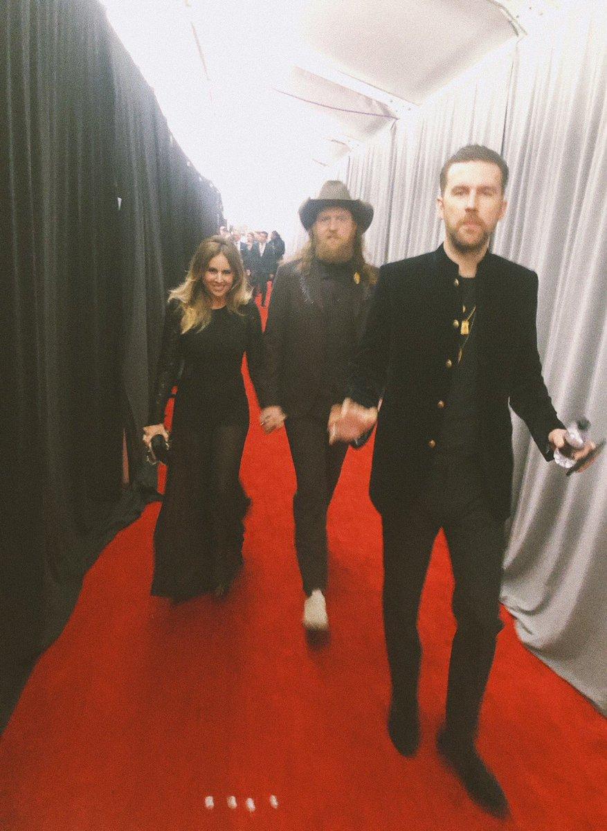 Last night  #Grammy2019 #brothersosborne<br>http://pic.twitter.com/pFSff3DVB6