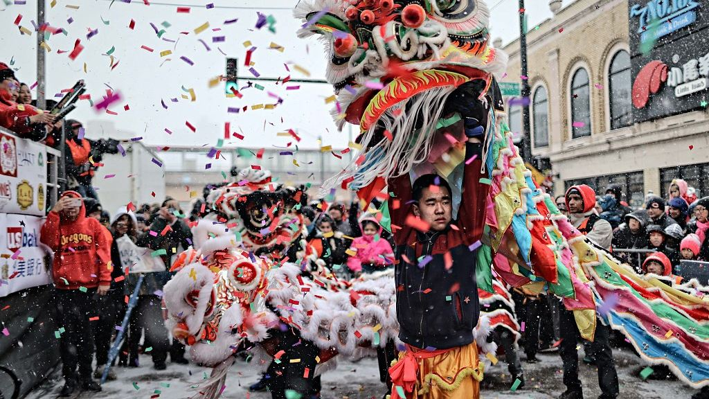 Chinese New Year parades held around the world #SpringFestival2019 https://t.co/pcWyinNa8g